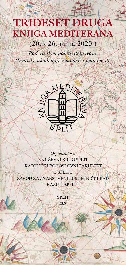 Prof. dr. sc. Mirja Jarak sudjeluje u manifestaciji Trideset druga Knjiga Mediterana