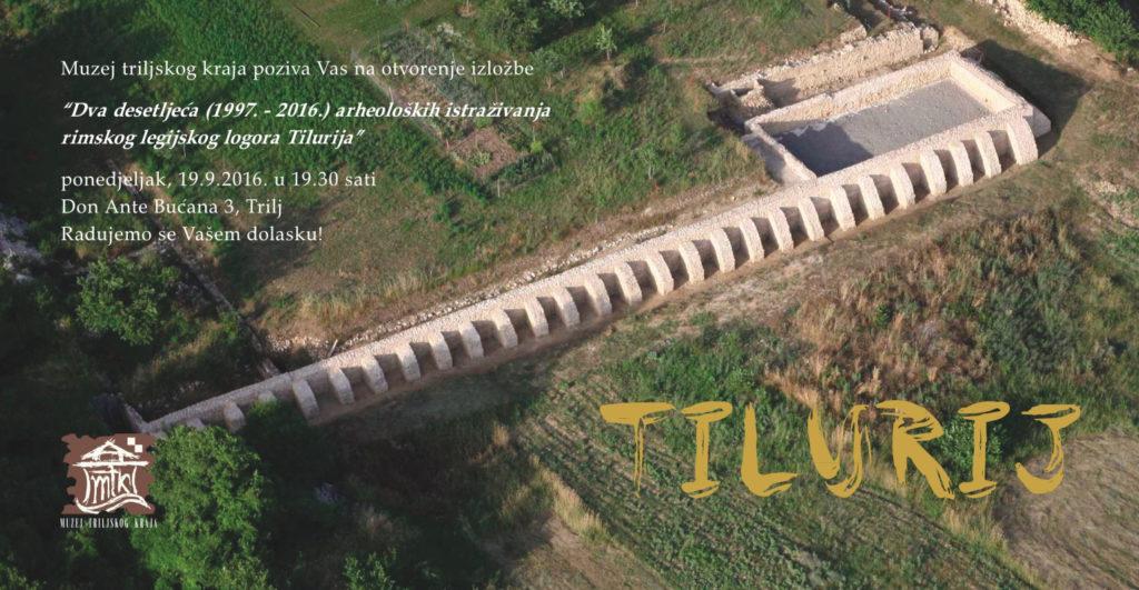 FFZG – Poziv na otvorenje izložbe 'Dva desetljeća (1997.-2016.) arheoloških istraživanja rimskog legijskog logora Tilurija' [PRESS]